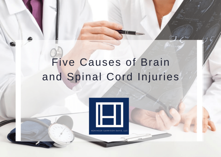 Brain and Spinal Cord Injuries