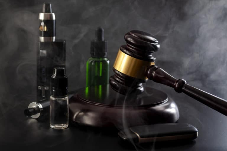Vaping meets the legal system