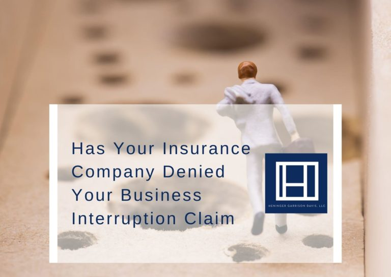 promo for business interruption claims