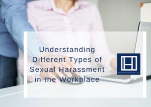 promo for understanding the different types of sexual harassment in the workplace